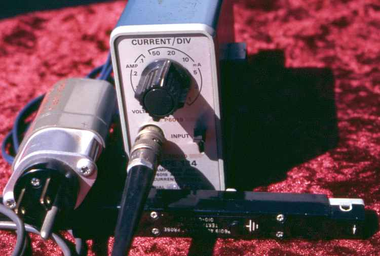 Current Probes In Line : Tektronix ac current probe p and