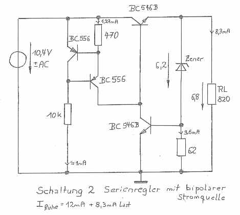 small power DC voltage amplifier on